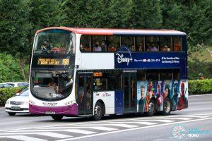 Bus 198 - SBS Transit Volvo B9TL Wright (SBS3854J)