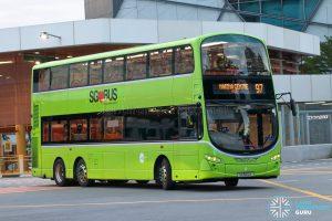 Bus 97 - Tower Transit Volvo B9TL Wright (SG5021X)