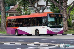 Bus 33 - SBS Transit Scania K230UB Euro V (SBS5065G)