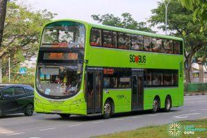 Bus 118A - Go-Ahead Singapore Volvo B9TL Wright (SG5069H)