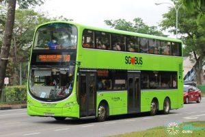 Bus 118 - Go-Ahead Singapore Volvo B9TL Wright (SG5092P)