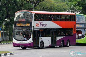 Bus 240 - SBS Transit Volvo B9TL Wright (SG5400J)