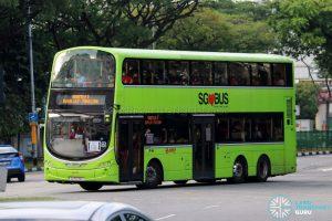 Shuttle 3 - SMRT Buses Volvo B9TL Wright (SG5576K)