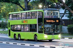 Bus 151 - SBS Transit MAN A95 Euro 5 (SG5916M)