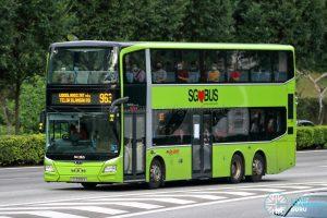 Bus 963 - SMRT MAN A95 Euro 6 (SG5986K)Bus 963 - SMRT MAN A95 Euro 6 (SG5986K)