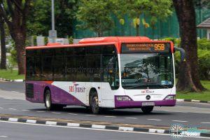 Bus 95B - SBS Transit Mercedes-Benz Citaro (SBS6056B)