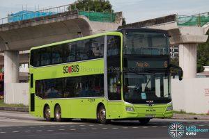 Bus 6 - Go-Ahead MAN Lion's City DD A95 (SG6095A)