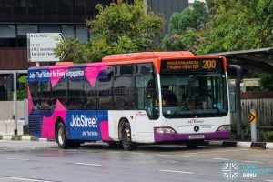Bus 200 - SBS Transit Mercedes-Benz Citaro (SBS6118G)