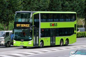 Off Service - SBS Transit MAN A95 Euro 6 (SG6148G)
