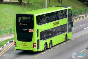 Bus 25 - SBS Transit MAN A95 Euro 6 (SG6183D) - Rear