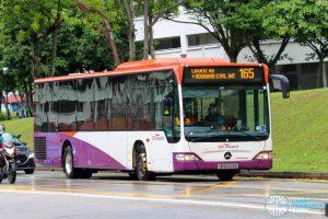 Bus 165 - SBS Transit Mercedes-Benz Citaro (SBS6206K)