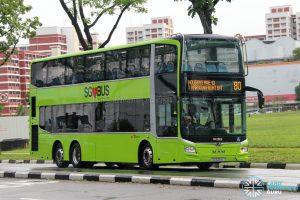 Bus 80 - SBS Transit MAN A95 Euro 6 (SG6261L)