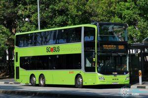 Bus 900 - SMRT Buses MAN A95 (3-Doors) (SG6306S)