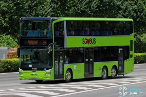 Bus 97 - Tower Transit MAN A95 (3-Doors) (SG6306S)