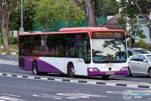 Bus 200 - SBS Transit Mercedes-Benz Citaro (SBS6610B)