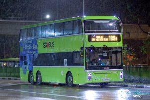 Bus 189A - Tower Transit Yutong E12DD (SG7004G)