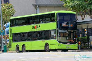 Bus 48 - SBS Transit Volvo B9TL CDGE (SBS7315Y)