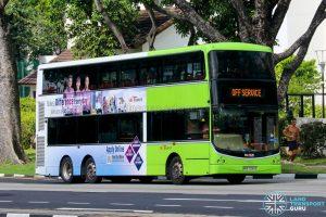 Off Service - SBS Transit Volvo B9TL CDGE (SBS7334S)