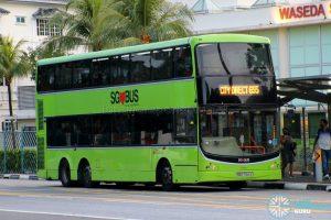 City Direct 655 - SBS Transit Volvo B9TL CDGE (SBS7341X)