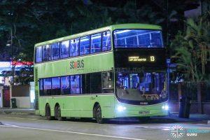 Bus 13 - SBS Transit Volvo B9TL CDGE (SBS7349A)