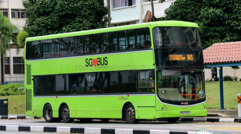 Bus 165 - SBS Transit Volvo B9TL CDGE (SBS7365C)