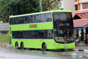 Bus 132 - SBS Transit Volvo B9TL CDGE (SBS7407R)