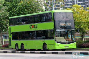 Bus 69 - SBS Transit Volvo B9TL CDGE (SBS7410E)