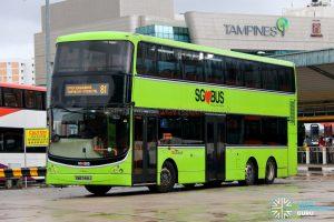 Bus 81 - SBS Transit Volvo B9TL CDGE (SBS7418J)