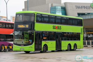 Bus 72 - SBS Transit Volvo B9TL CDGE (SBS7420B)