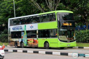 Bus 22 - SBS Transit Volvo B9TL CDGE (SBS7439Z)