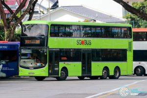 Bus 201 - SBS Transit Volvo B9TL CDGE (SBS7450P)