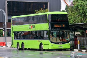 Bus 10 - SBS Transit Volvo B9TL CDGE (SBS7469L)