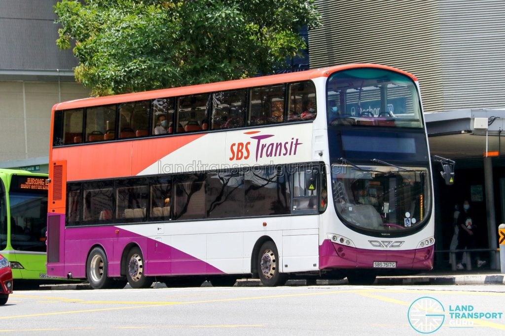 SBS Transit Volvo B9TL Wright (SBS7517G)