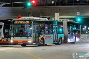 Bus 300 - SMRT Buses MAN A24 (SMB8022U)