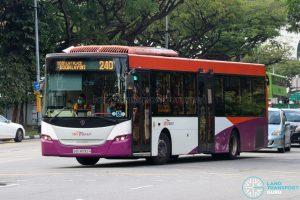 Bus 240 - SBS Transit Scania K230UB Euro IV (SBS8092H)