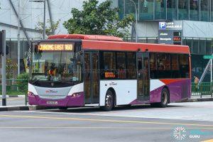 Bus 160 - SBS Transit Scania K230UB Euro IV (SBS8210J)