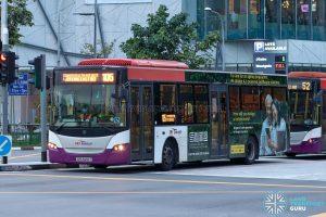 Bus 105 - SBS Transit Scania K230UB Euro IV (SBS8216T)