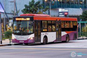 Bus 160M - SBS Transit Scania K230UB Euro IV (SBS8345D)