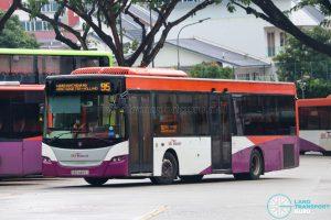 Bus 95 - SBS Transit Scania K230UB Euro IV (SBS8489Y)