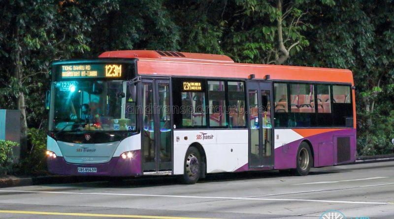 Bus 123M - SBS Transit Scania K230UB Euro V (SBS8563R)