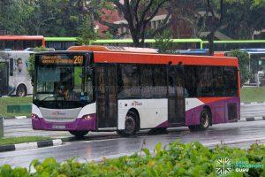 Bus 201 - SBS Transit Scania K230UB Euro V (SBS8576D)