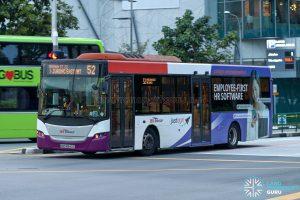 Bus 52 - SBS Transit Scania K230UB Euro V (SBS8943C)