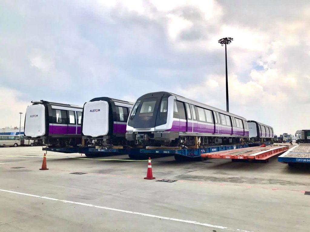 Alstom Metropolis C851E Trains for North East Line (Photo: Land Transport Authority)