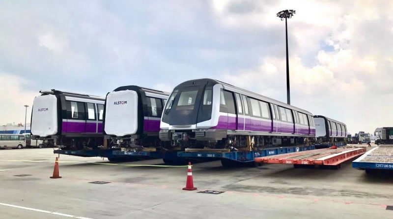 Alstom Metropolis C851E Trains for North East Line (Photo: Land Transport Authority)