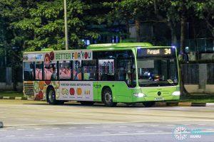 Bus 34 - Go-Ahead Singapore Mercedes-Benz Citaro (SG1018G)