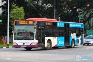 Bus 859 - SMRT Buses Mercedes-Benz Citaro (SG1032P)