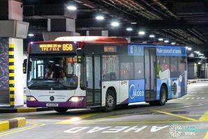 Bus 858 - SMRT Buses Mercedes-Benz Citaro (SG1040R)