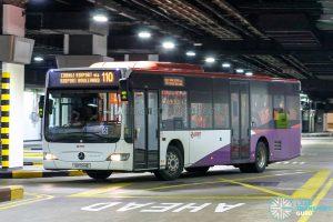 Bus 110 - SMRT Buses Mercedes-Benz Citaro (SG1044E)