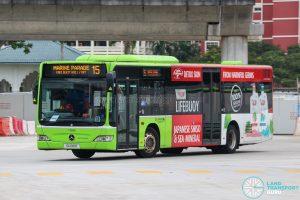 Bus 15 - Go-Ahead Singapore Mercedes-Benz Citaro (SG1061E)