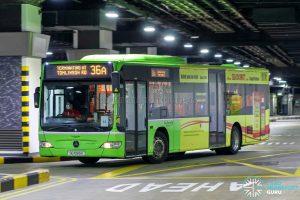 Bus 36A - Go-Ahead Mercedes-Benz Citaro (SG1065U)